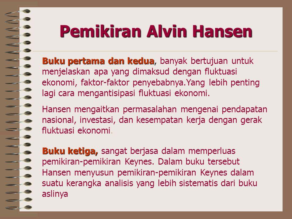 Pemikiran Alvin Hansen