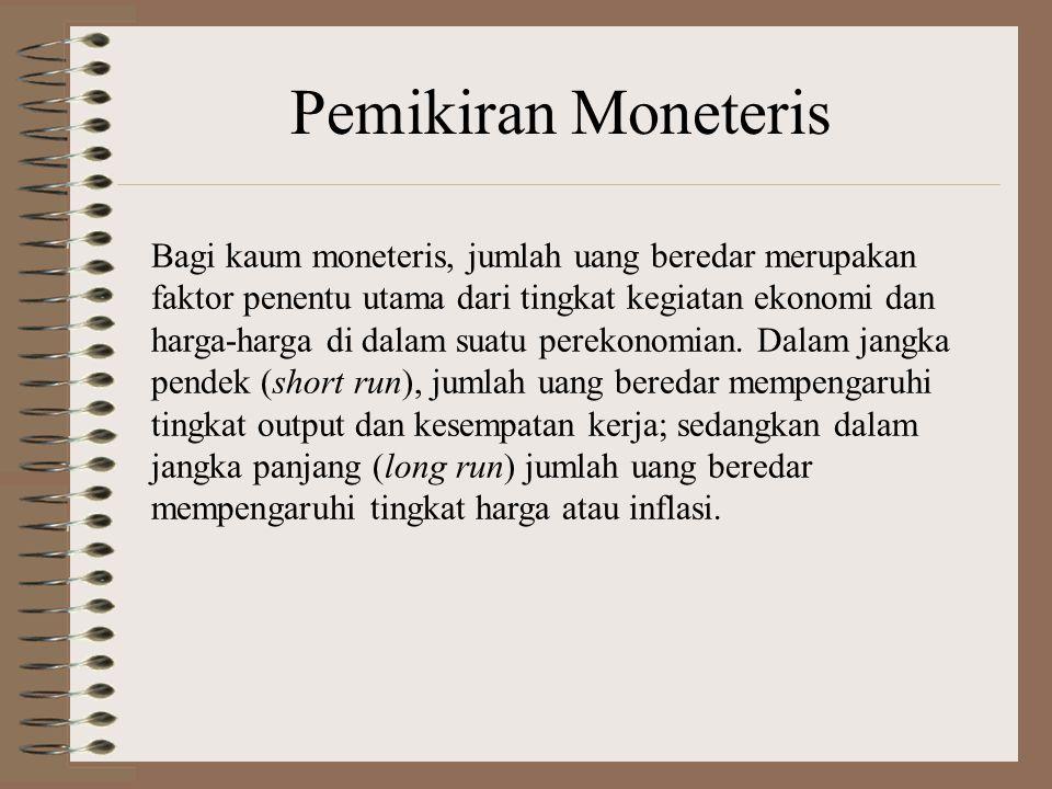 Pemikiran Moneteris