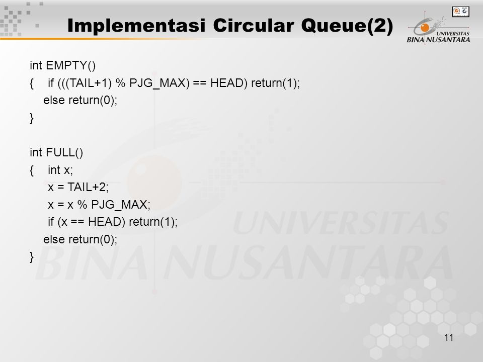 Implementasi Circular Queue(2)