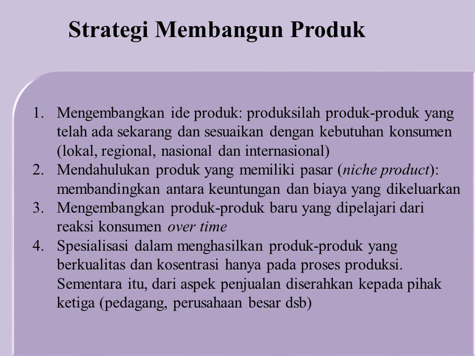 Strategi Membangun Produk