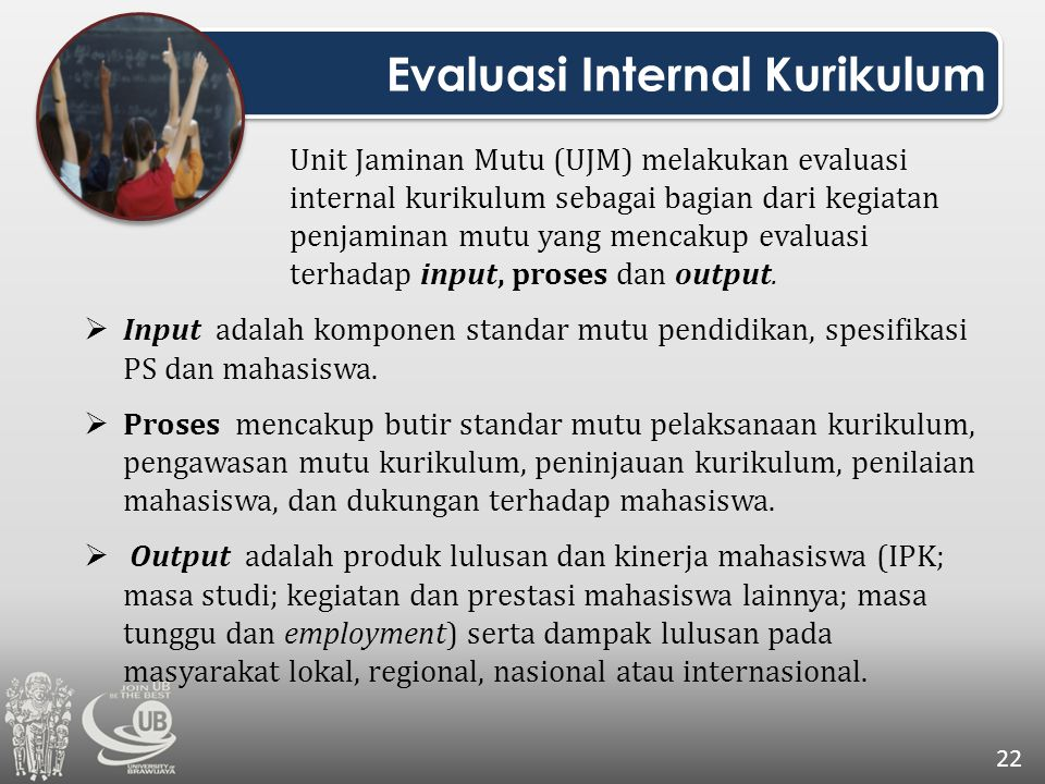 Evaluasi Internal Kurikulum