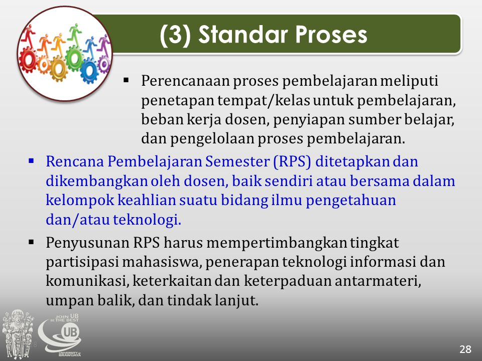 (3) Standar Proses