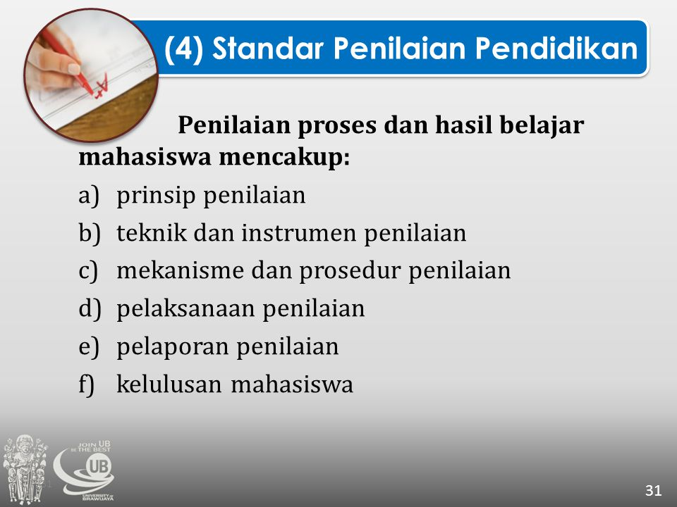 (4) Standar Penilaian Pendidikan