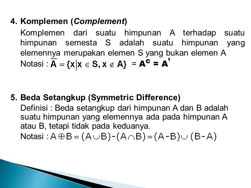 Komplemen (Complement)