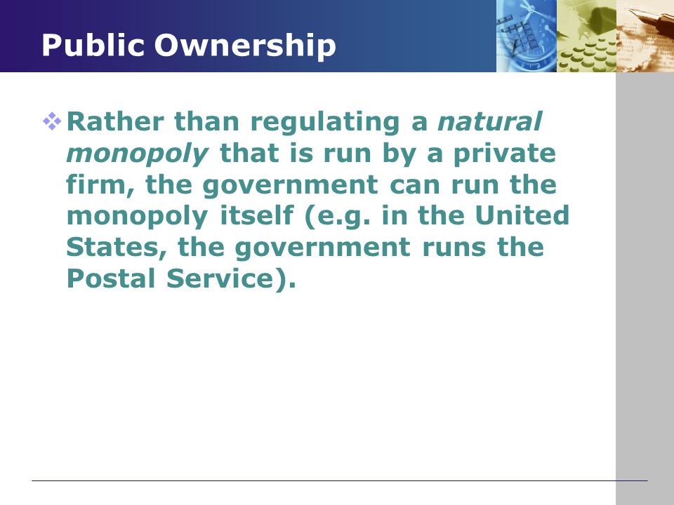 Public Ownership