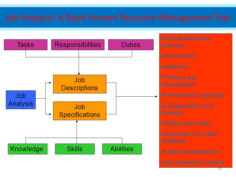 Job Analysis: A Basic Human Resource Management Tool