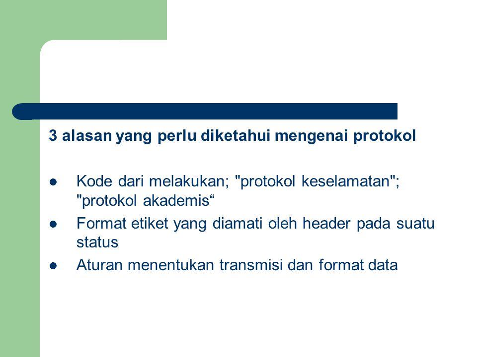 3 alasan yang perlu diketahui mengenai protokol