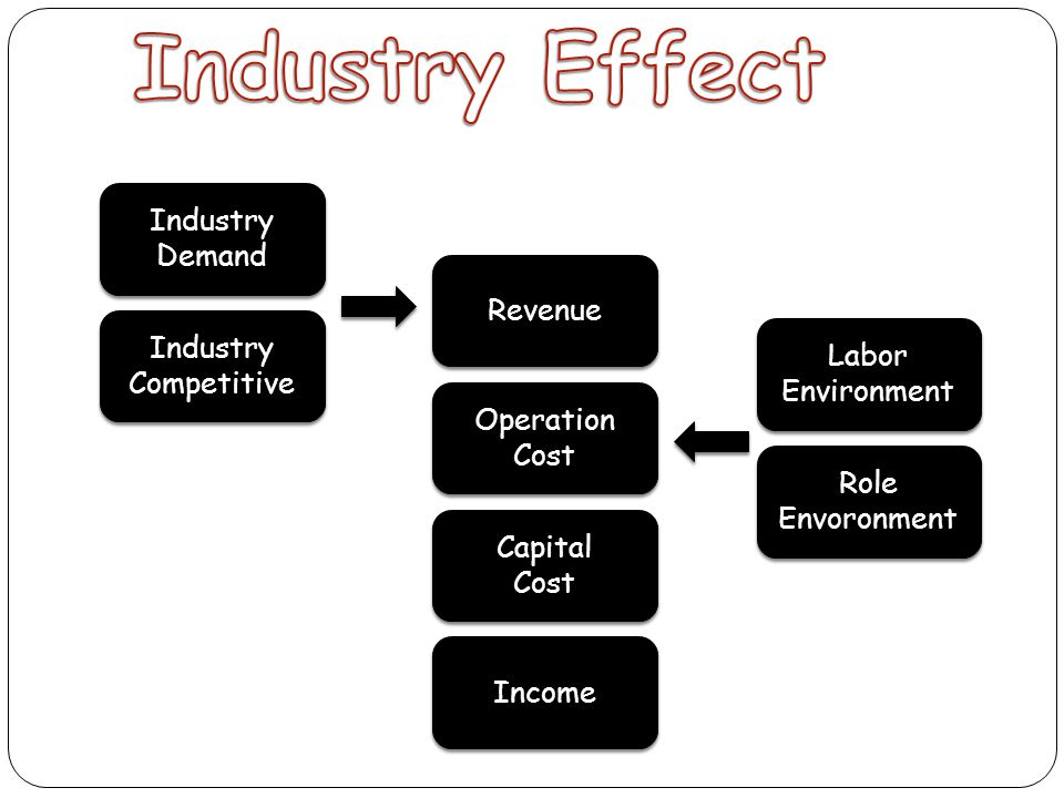 Industry Effect Industry Demand Revenue Labor Competitive Environment