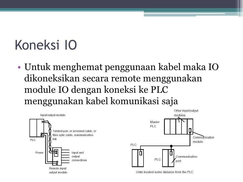 Koneksi IO