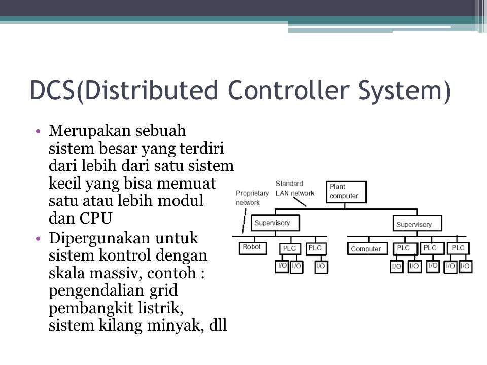 DCS(Distributed Controller System)