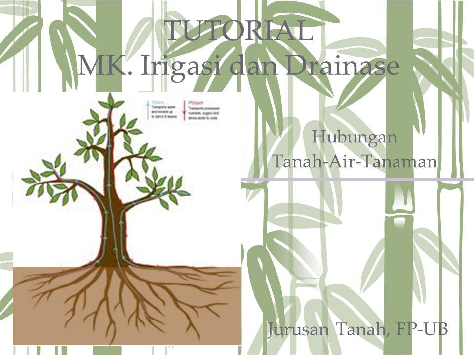 TUTORIAL MK. Irigasi dan Drainase