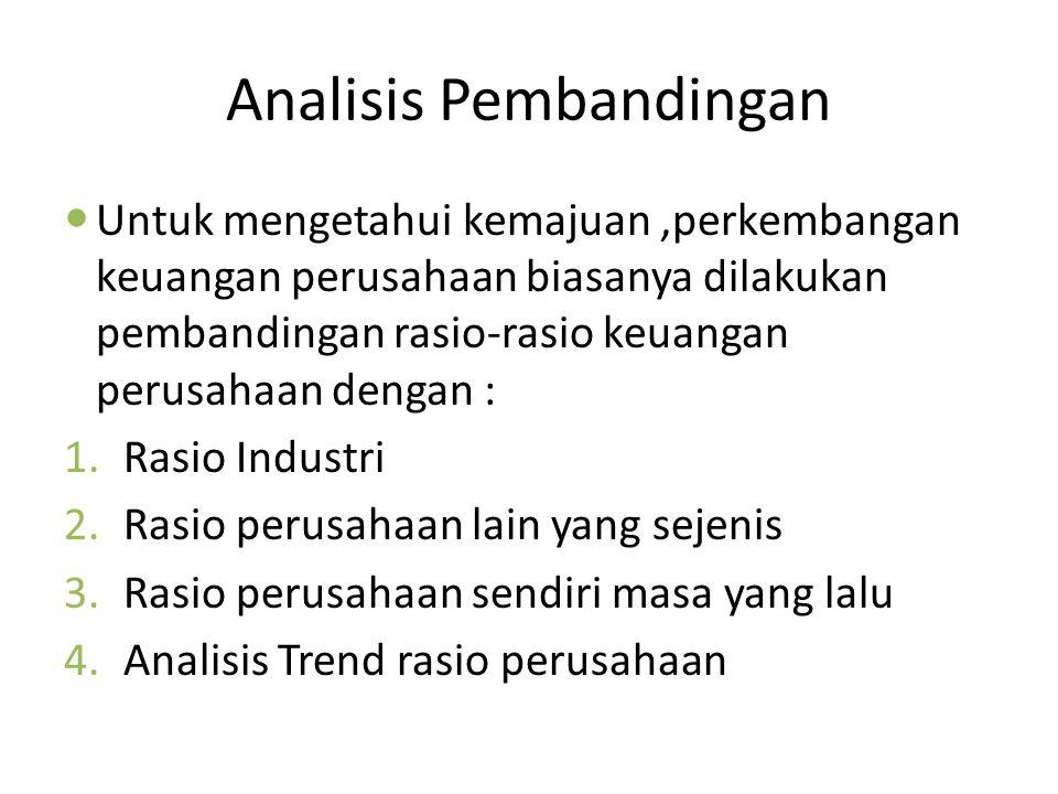 Analisis Pembandingan