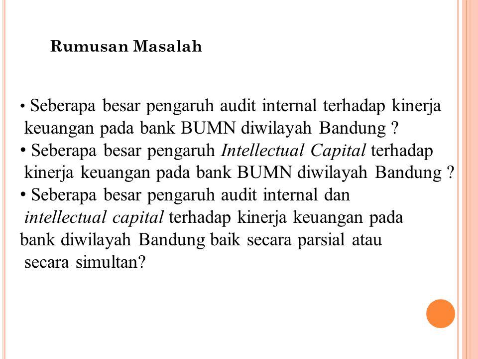keuangan pada bank BUMN diwilayah Bandung