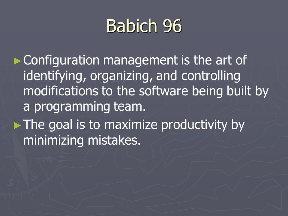 Babich 96