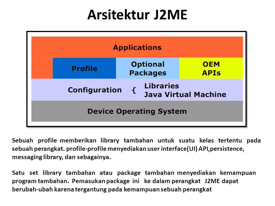 Arsitektur J2ME