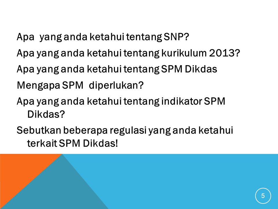 Apa yang anda ketahui tentang SNP