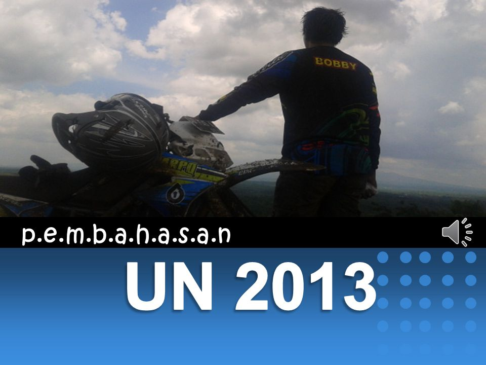 p.e.m.b.a.h.a.s.a.n UN 2013