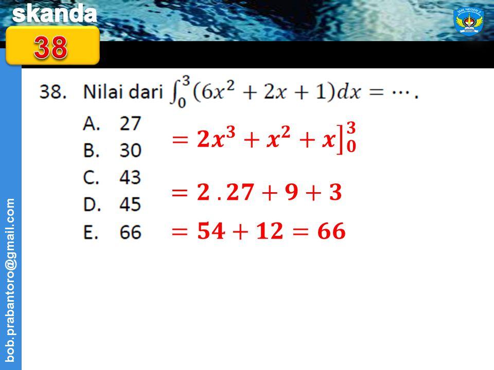 38 = 𝟐 𝒙 𝟑 + 𝒙 𝟐 +𝒙 𝟎 𝟑 =𝟐 . 𝟐𝟕+𝟗+𝟑 =𝟓𝟒+𝟏𝟐=𝟔𝟔