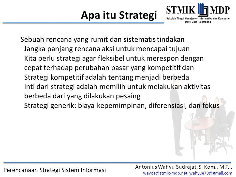 Apa itu Strategi