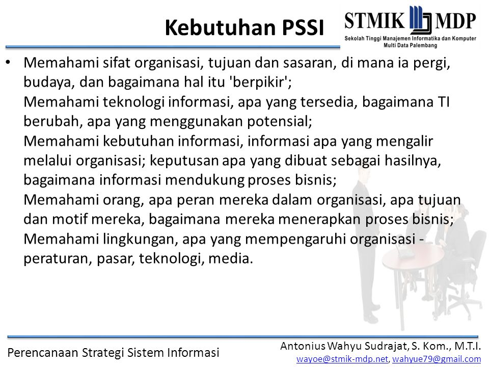 Kebutuhan PSSI