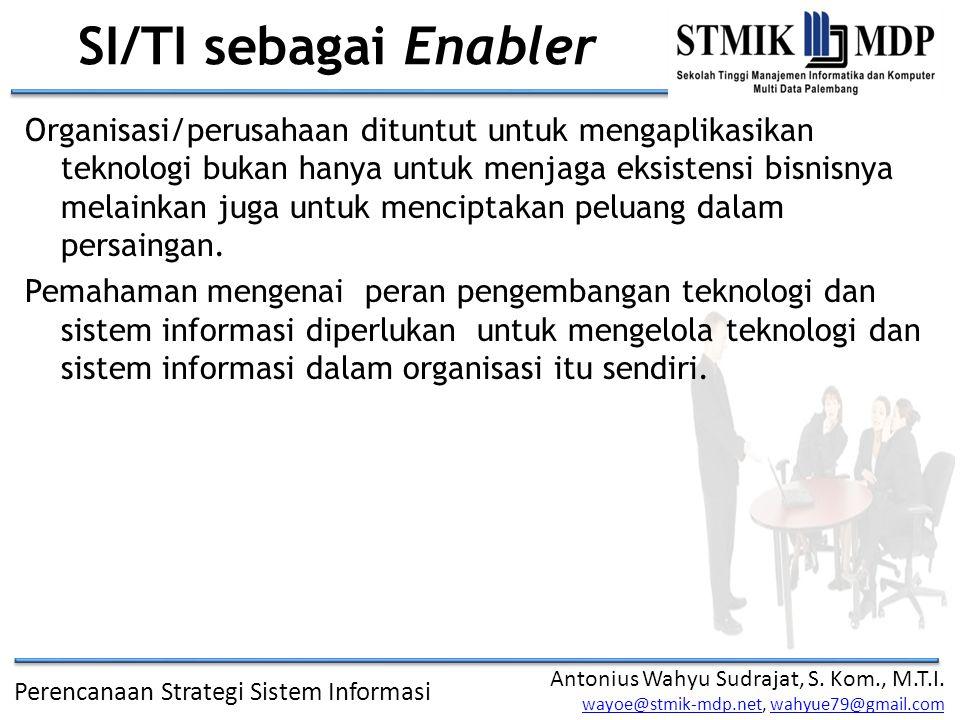 SI/TI sebagai Enabler