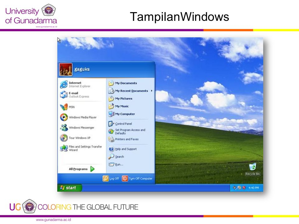 TampilanWindows