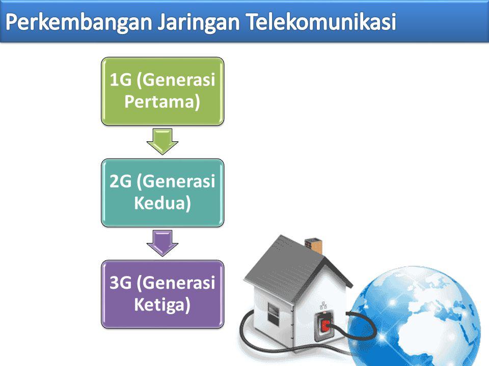 Perkembangan Jaringan Telekomunikasi