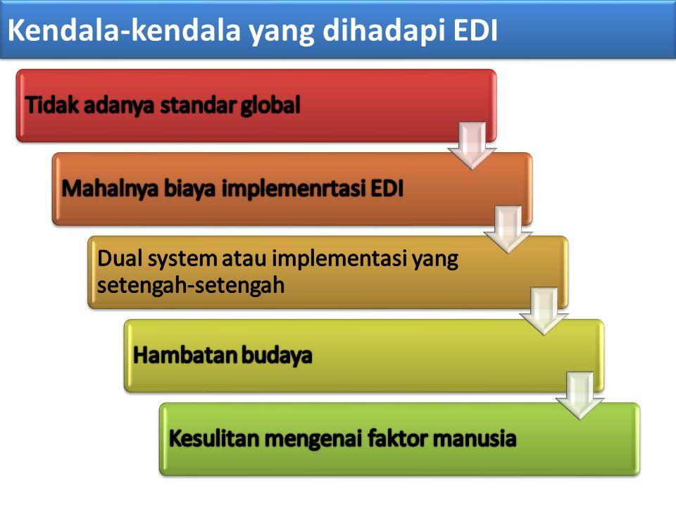 Kendala-kendala yang dihadapi EDI