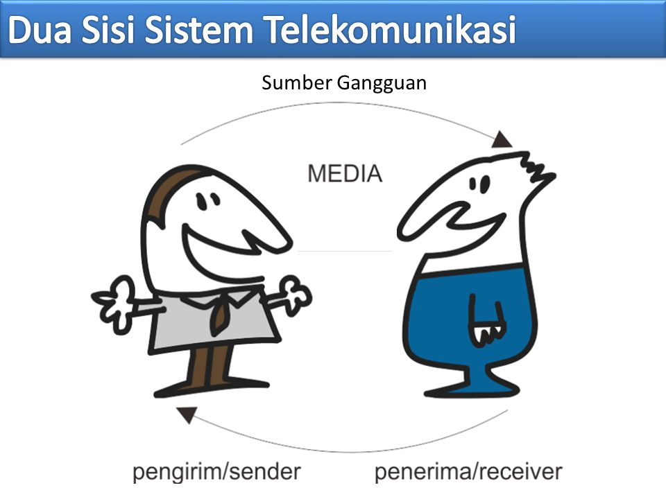 Dua Sisi Sistem Telekomunikasi