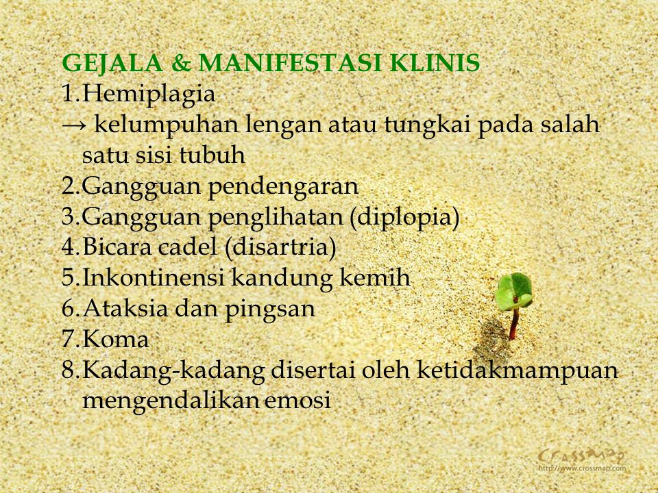 GEJALA & MANIFESTASI KLINIS