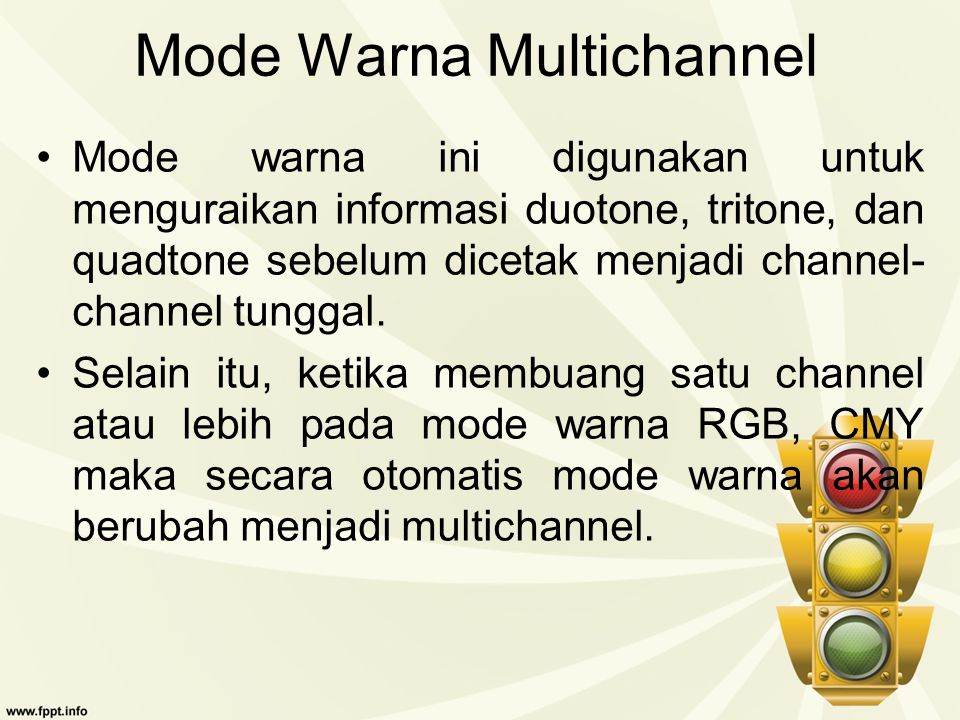 Mode Warna Multichannel