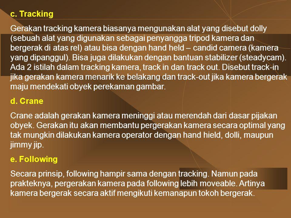c. Tracking