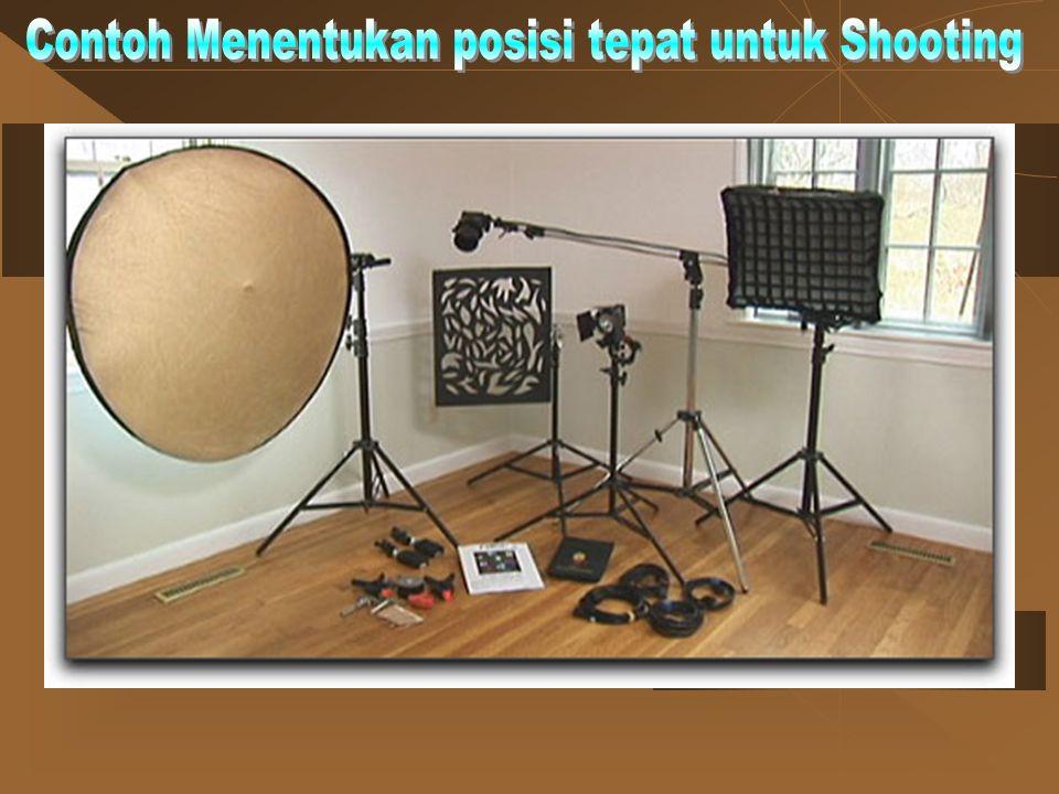Contoh Menentukan posisi tepat untuk Shooting