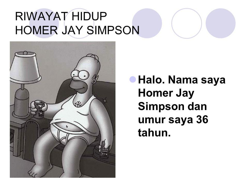 RIWAYAT HIDUP HOMER JAY SIMPSON