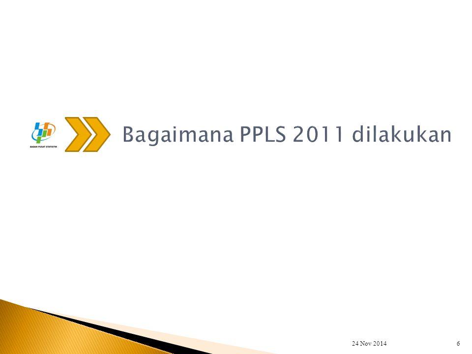 Bagaimana PPLS 2011 dilakukan