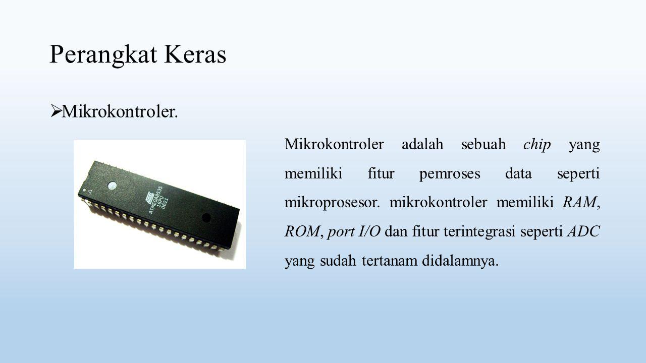 Perangkat Keras Mikrokontroler.
