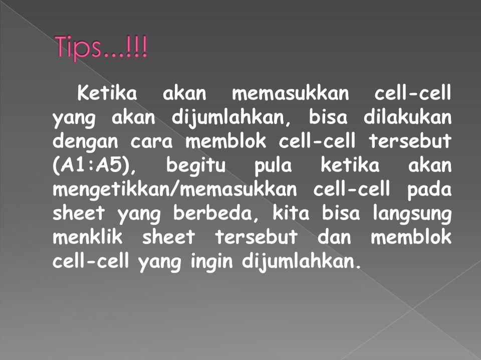 Tips...!!!