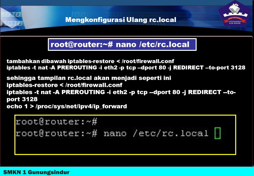 root@router:~# nano /etc/rc.local