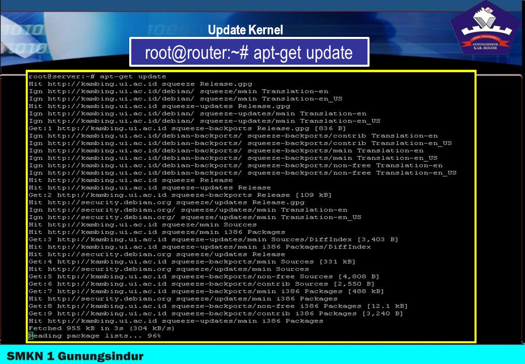 root@router:~# apt-get update