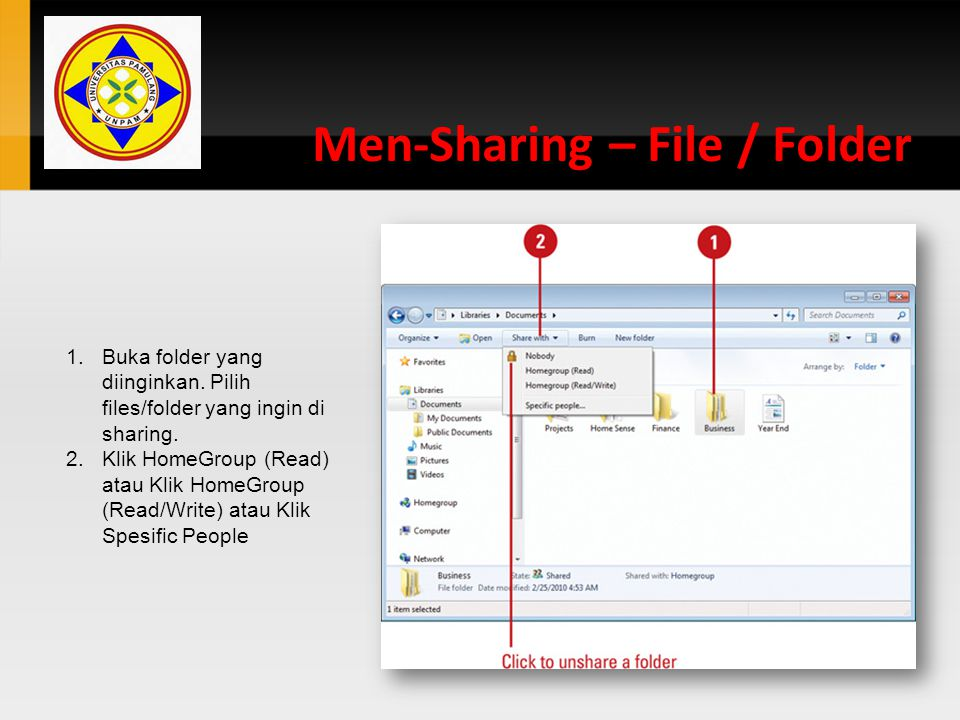 Men-Sharing – File / Folder