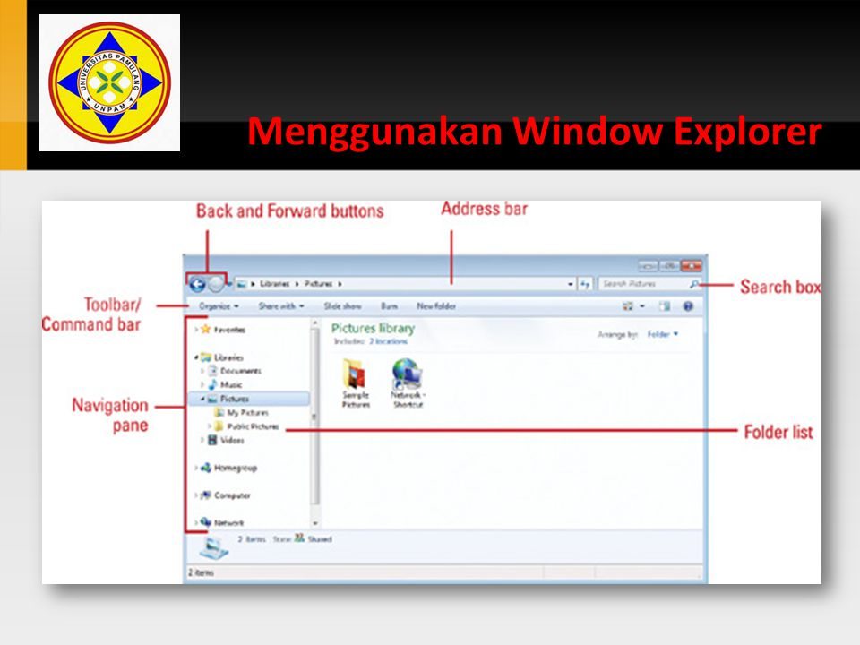 Menggunakan Window Explorer