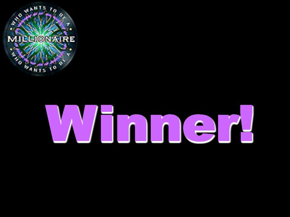 Winner! Winner! Winner! Winner! Winner! Winner! Winner! Winner! Winner!