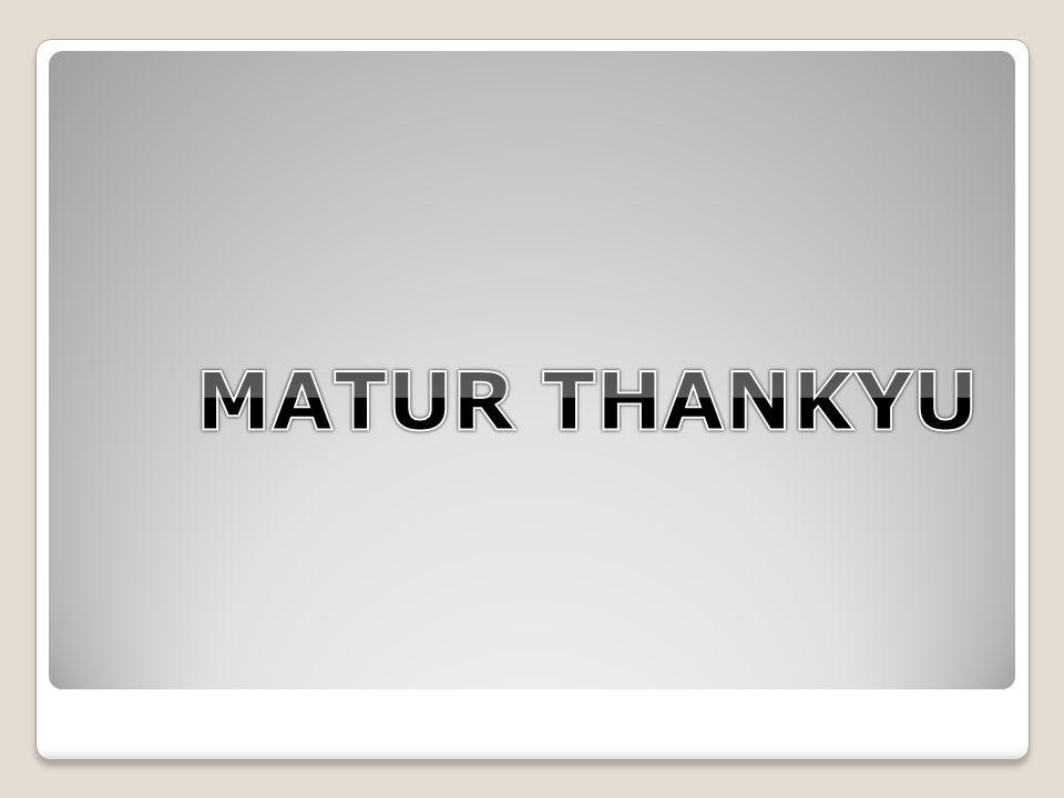 MATUR THANKYU