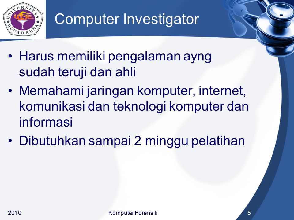 Computer Investigator