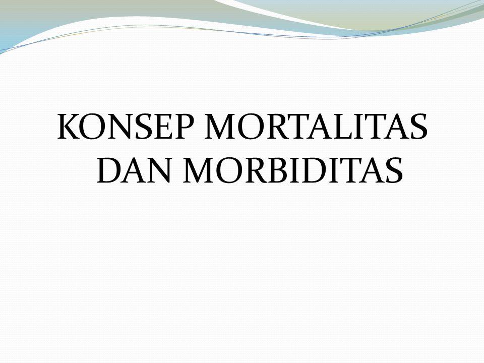 KONSEP MORTALITAS DAN MORBIDITAS