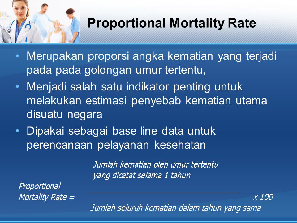 Proportional Mortality Rate