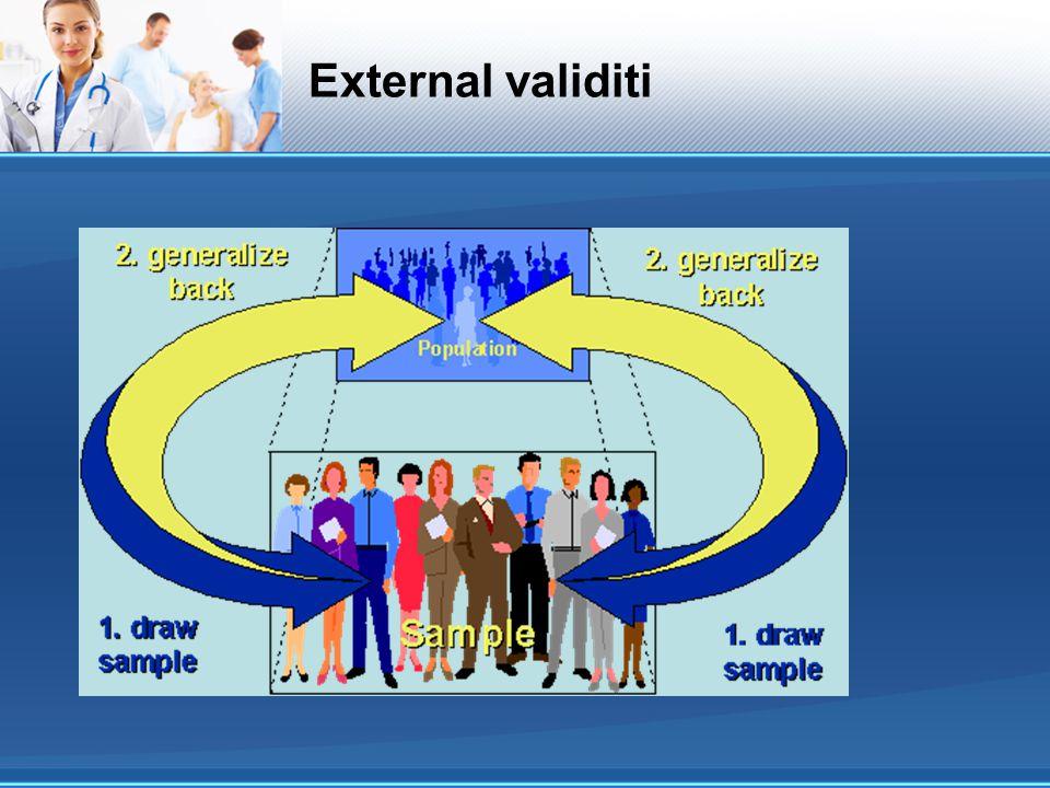 External validiti