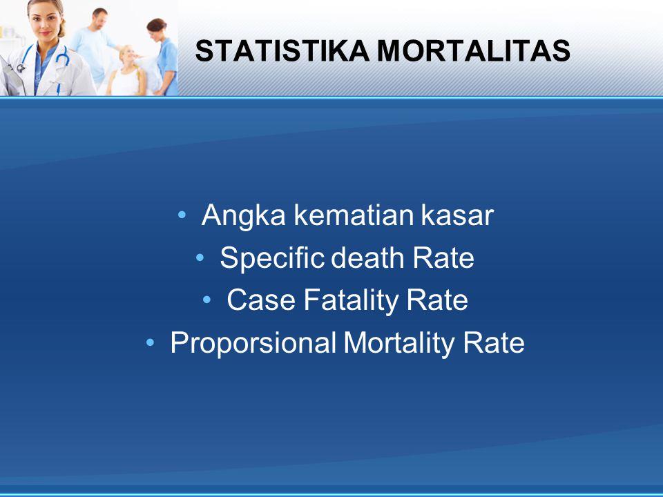 STATISTIKA MORTALITAS