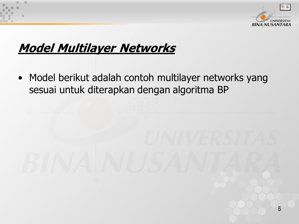 Model Multilayer Networks