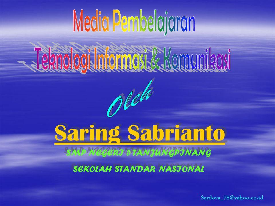Saring Sabrianto Oleh Media Pembelajaran